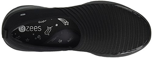 Women's Knit Bzees Sneaker Ribber Glee Black UHYCq