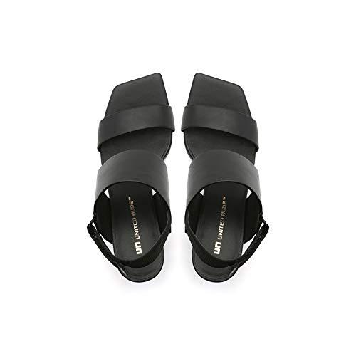 Negro Vestir Tacón Black Para Mujer De Modelo Nude Mix Sandalia Rockit United 6nqx1tCPw