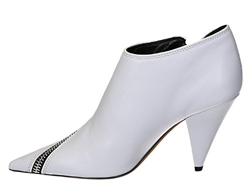 Leather Healed Light Number Gray Booties Model Light in Gray Soft 322053NZP 01BP Céline ROYwdqFq
