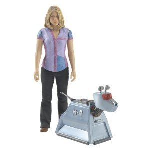 Doctor Who Rose Tyler and K-9 Action Figure Set