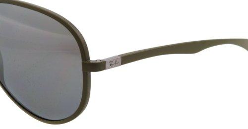 71d634dcf5 Ray-Ban 4180 882 82 Matte Khaki 4180 Aviator Sunglasses  Amazon.co.uk   Clothing