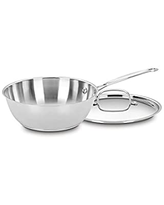 Cuisinart 3Qt Covered Chef's Pan