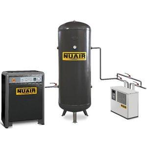 Compresor de aire Insonorisé marca lente 10 cv 500 L NuAir: Amazon.es: Bricolaje y herramientas