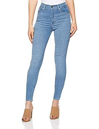 Levi's Women's Mile High Super Skinny, Math Club, 24 32 Blue