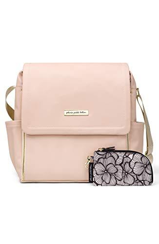 Petunia Pickle Bottom Boxy Backpack, Blush Leatherette, One Size