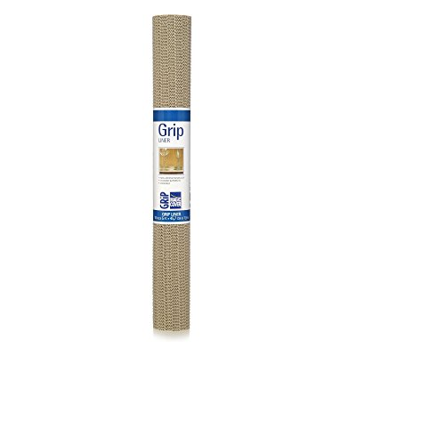 Magic Cover Grip Liner For Drawer, Shelf, Counter Tops and Surface Setting - Taupe - ()