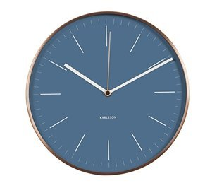 Present Time Karlsson Modern Wall Clock – Unique & Contemporary Wall Clock