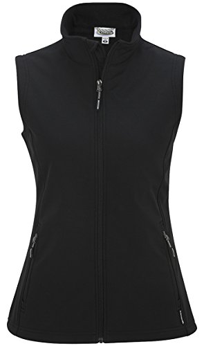 Vest Authority Port Womens (Edwards Soft-Shell Vest - Women's, Black, Medium)
