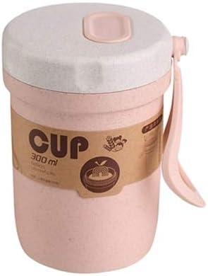 Material de Salud Fiambrera de 3 Capas Recipiente de Comida Apto para microondas Paja de Trigo ecológica Fiambrera de 900 ml - Otro