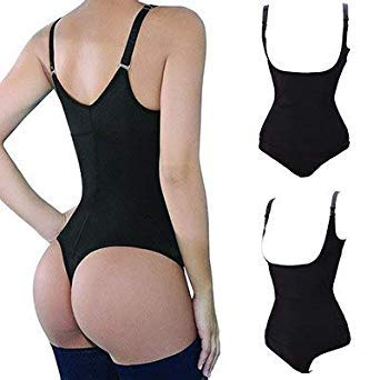 ed68524600 Uniqus Miss Moly Women Full Body Shaper Waist Cincher Underbust Thong Corset  Bodysuit Jumpsuit Shapewear Seamless