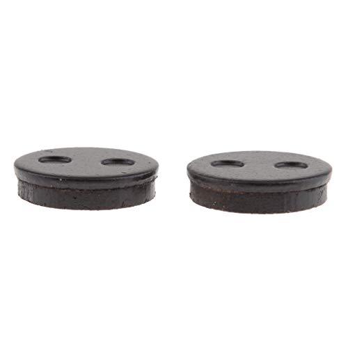B Blesiya 2x Round Disc Brake Pads for MIJIA M365 Scooter - Front Rear Disc Brake Pads: