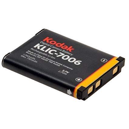 (KLIC7006 KLIC 7006 3.7 Volt Li-Ion Rechargeable Digital Camera Battery - KLIC-7006)