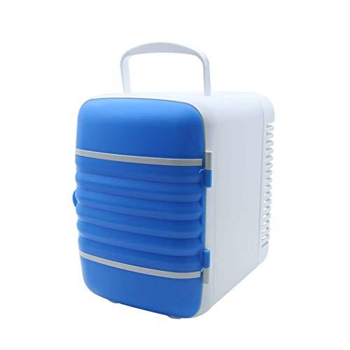 DSHBB Car Fridge Mini,car Refrigerator Cooler ,car Fridge Home Camping Fridge (Color : Blue) by DSHBB
