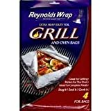 reynolds cooking bags - Reynolds Wrap Grill and Oven Bags (Extra Heavy Duty) Pack of 4- 16 Total Bags