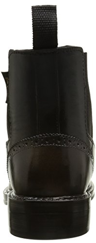 BE ONLY Damen Julietta Chelsea Boots Schwarz (Noir Bronze)