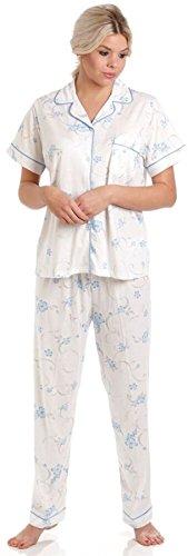 Señora Olga Jersey de Pijamas florales Blue