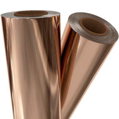 Rose Gold Metallic Laminating/Toner Fusing Foil (8