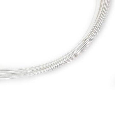 20 Gauge Round 925 Sterling Silver Wire Half Hard 5FT from Craft Wire