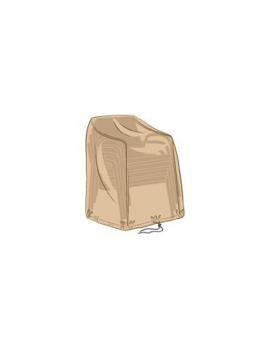 Garland Stacking Chair Cover - Silver Grade (W1476)
