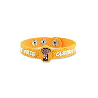 AllerMates Wrist Band Prof. Wheatley Wheat/Gluten Allergy