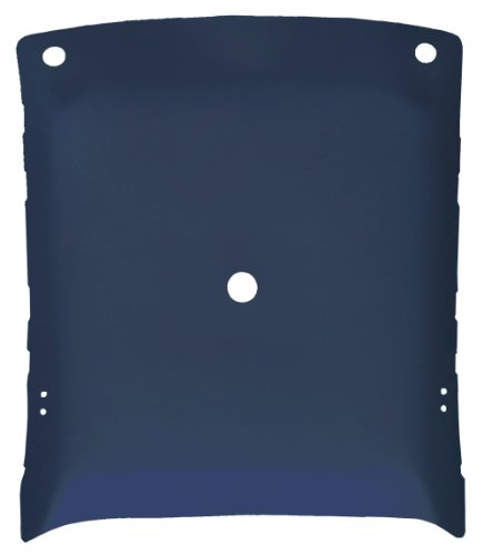 Perforated Headliner - Acme AFH29-FBPFBH6 ABS Plastic Headliner Covered With Blue Perforated Foambacked Vinyl