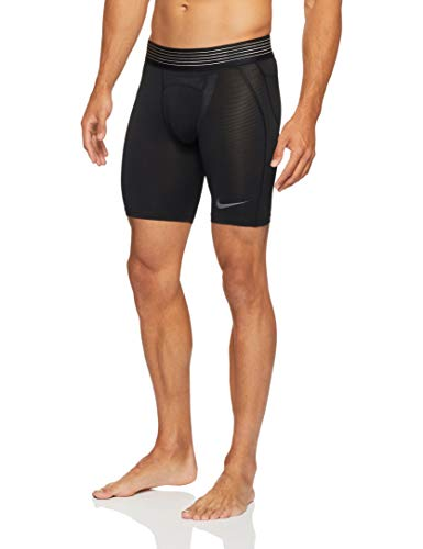 Nike Pro Hypercool Men's Training Shorts (Black/Black/Dark Grey, S)