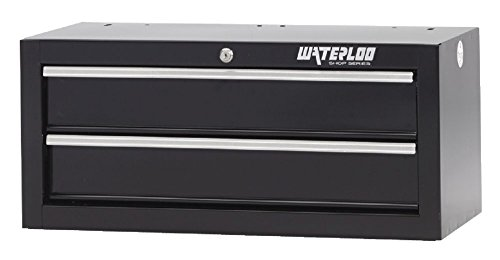 Series Tool Professional Storage Chest (Waterloo Shop Series 2-Drawer Intermediate Tool Chest, 26