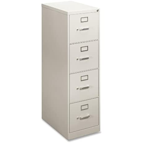 Vertical File 4 Drawer 22 D LtGray