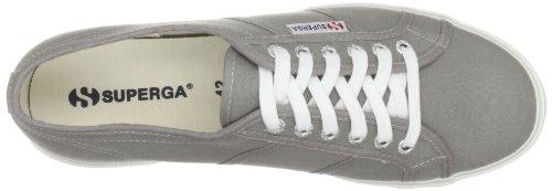 Superga 2950 Grey Cotu Unisex Gris lona Zapatillas de M38 Sage rrqgd