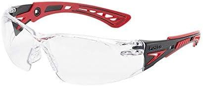 工場から建設・医療の現場まで、幅広い用途で使える保護メガネ。 bolle safety(ボレーセーフティ) ラッシュプラス 保護メガネ クリアレンズ 1662301JP 〈簡易梱包