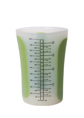 Chef'n SleekStor Pinch+Pour 4-Cup Measuring Beaker with L...