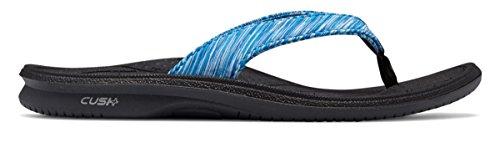 (ニューバランス) New Balance 靴?シューズ レディースサンダル Cush+ Heathered Thong Blue Atoll ブルー アトール US 9 (26cm)