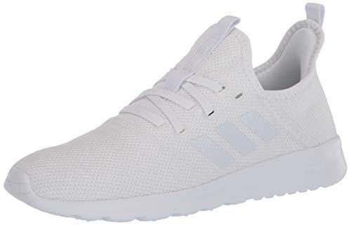 adidas Women's Cloudfoam Pure Running Shoe, White/White/Light Granite, 8