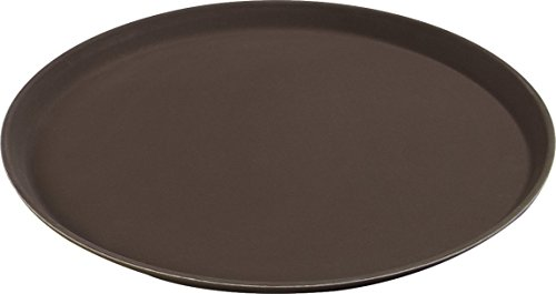 Carlisle (1600gl076) griplite bandejas de servir, docena (16–7/16-inch, polipropileno, café)