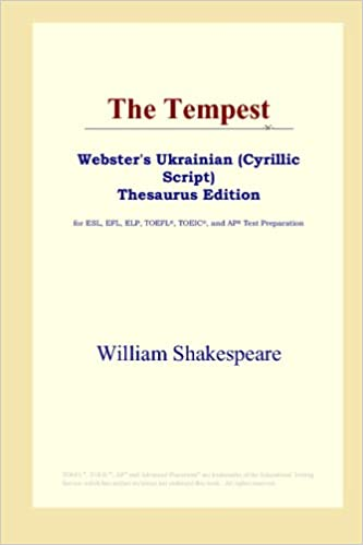The Tempest (Websters Thesaurus Edition)