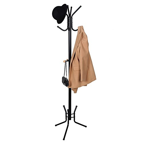 Perfect Free Coat And Boot Rack Image: SONGMICS Coat Rack Stand Entryway Hat Purse Display Hall