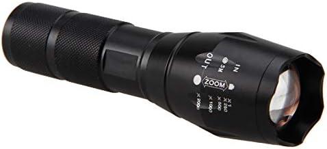 Coyote Hog Piles non Comprises Mode Unique pour La Chasse Nocturne /à Lastronomie Lampe Torche LED Rouge RechargeableTactique Lampe de Poche 500 Lumens /à mise au point r/églable