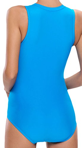 confit you - Traje de una pieza - Opaco - para mujer Azul