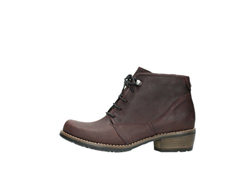 Mocassins 6227 Leather Rouleau Rouleau Mocassins Oiled 50510 Wolky Burgundy 4Hq1In