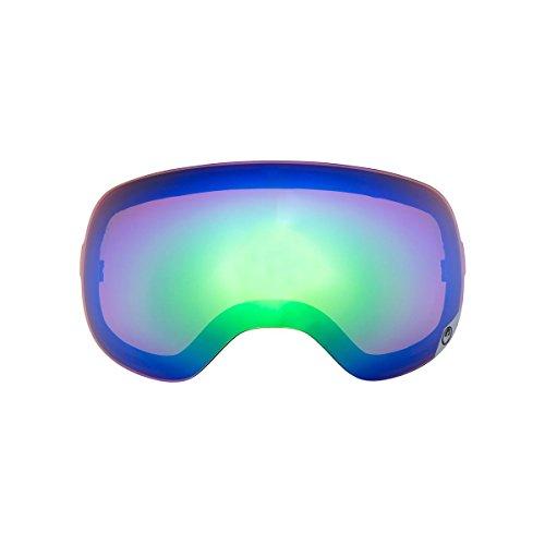 Dragon Alliance Dual Unisex X1S Snow Eyewear Accessories - Green Ionized / One Size