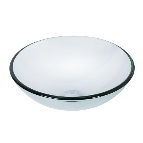 Crystal Glass Lavatory Sink (VIGO Crystalline Glass Vessel Bathroom Sink)