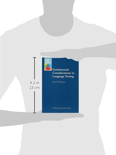 Fundamental Considerations in Language Testing (Oxford Applied Linguistics) by Oxford University Press