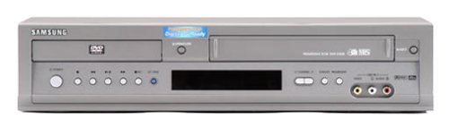 - Samsung DVD-V3500 Progressive-Scan DVD/VCR Combo