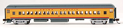Bachmann Industries Heavyweight Coach with Lighted Interior - Union Pacific (N Scale), (Scale Heavyweight Coach)