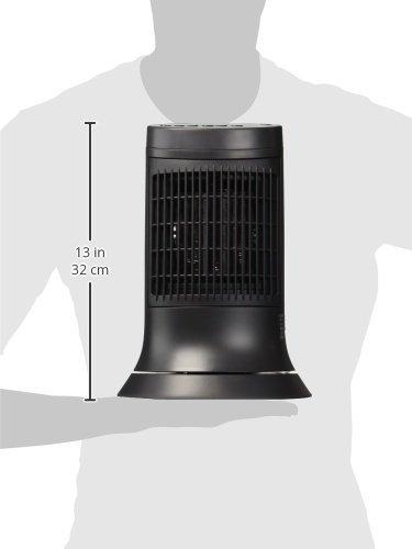 Honeywell - Ceramic Compact Tower Heater - Gray