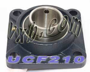 50mm Bearing UCF-210 + Square Flanged Cast Housing Mounted Bearings