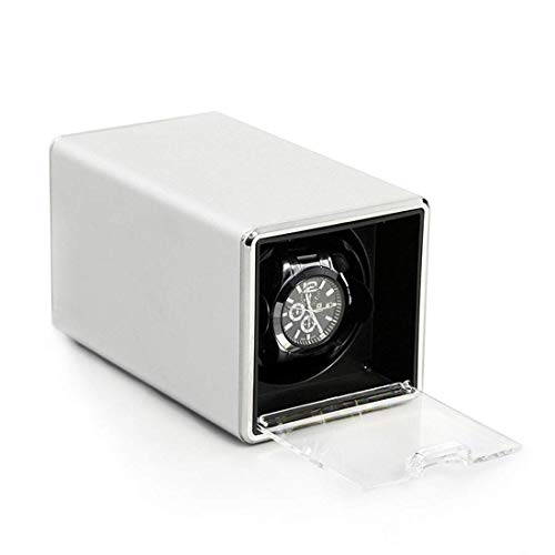 Patek Philippe Twenty Four - LOKKG Watch Winder for Single Watch - Compact Watch Winders for Automatic Watches, Super Quiet Motor, White