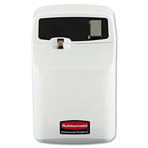 Rubbermaid Commercial RCP 5169 SeBreeze Programmable Odor Neutralizer Dispenser, 4 3/4'' x 3 1/8'' x 7 1/2'', White by Rubbermaid Commercial