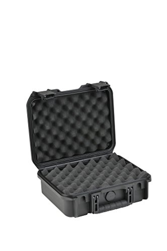 Skb Pistol Case - SKB Injection Molded Layered Foam Equipment Case (12 x 9 x 4.5-Inch)