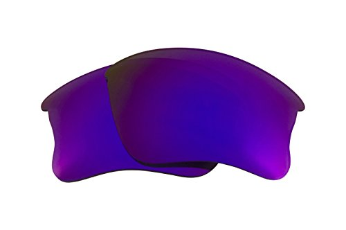 Best SEEK Replacement Lenses Oakley FLAK JACKET XLJ - Purple by Seek Optics